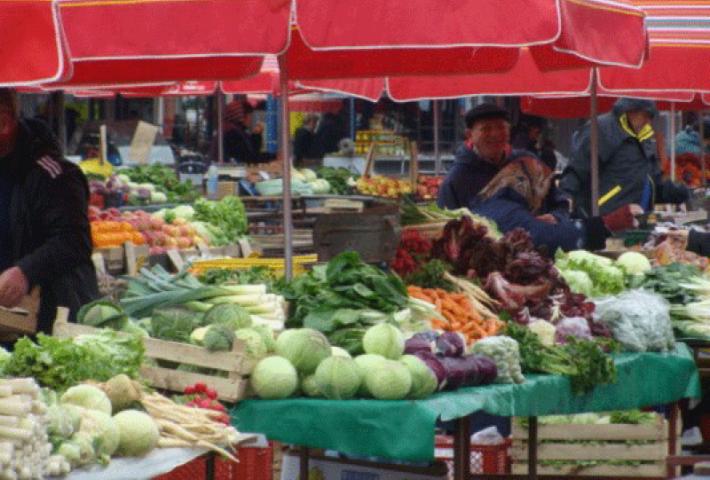 Stadtführung über Dolac Markt mit Verkostung